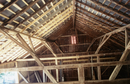 Restoration Of Historic Timber Framed Bank Barn