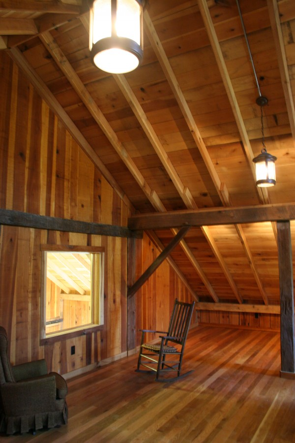1860 Bank Barn Conversion To Woodworking Studio