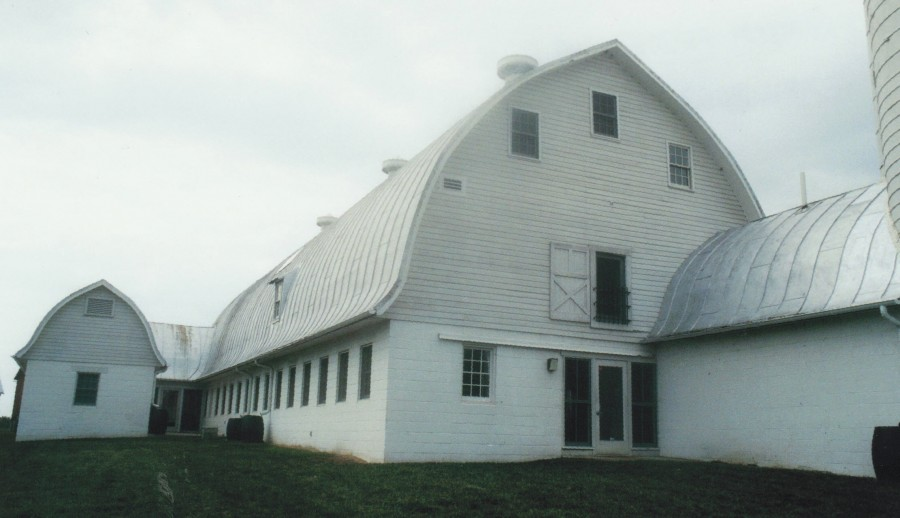 Multiple Barns Restored On A Historic Site