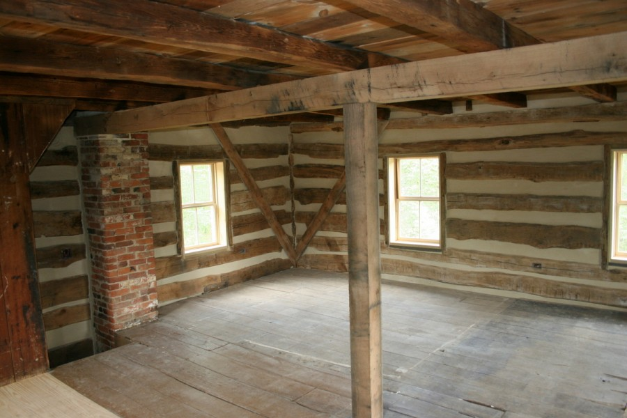 Restored Log Home Regains Its Old Charm
