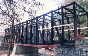 Fire Damage to Bridge During Demolition Phase