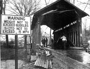 Dean Fitzgerald said his group plans to develop a park pavilion where one used to exist near the bridge. According to Mr. Fitzgerald, the pavilion was vandalized and destroyed in the late 1970s.