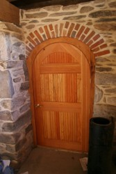 Custom Made Arch Door