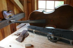 The Revitalized Barn Now Is Home to Beautiful Restorations of Fine Stringed Instruments