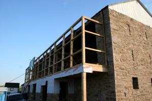 New Northeast Wall Framed