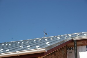 Galvanized Steel Standing Seam Roof Complete