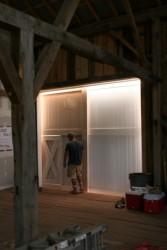 Custom Sliding Doors Secure the Recreation Area
