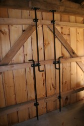 Historic Corn Crib Adaptively Reused For Equipment And