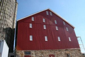 Gable Siding and Louvers Complete