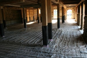 We Embedded Radiant Tubing in the Floors to Provide Heating and Cooling