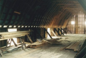 Loafing Shed Interior View