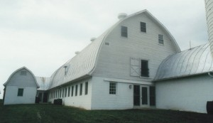 Historic Gothic Dairy Barn After Repairs
