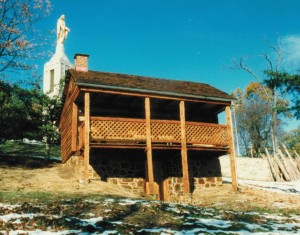 Completed Restoration Of Historic Log Cabin
