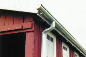 Fully Soldered Galvanized Steel Half-Round Gutters