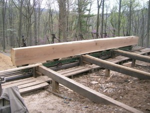 A Finished Timber Weighing Something Over Two Tons