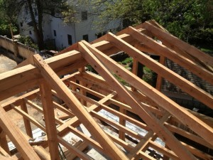 Dormer Framing At West Wing