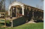 Covered Bridge Arch Truss Repair