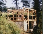 New 2 Story Timberframed Building, New Stone Foundation