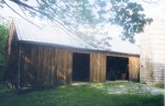 Restoration of Historic Timber Framed Bank Barn