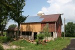 New owner of a neglected barn hires Fitzgerald's Heavy Timber to restore the heavy timber frame.