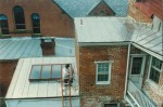 We Installed a New Standing Seam Roof To Accomodate Skylights In The Historic District