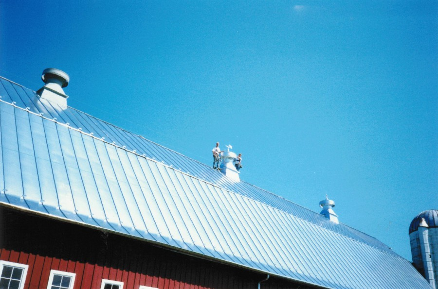 Standing Seamed Metal Roofs